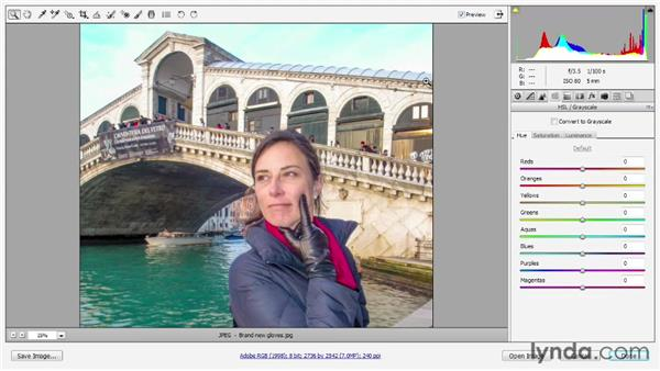 Working with JPEG and TIFF images: Photoshop CS6 One-on-One: Advanced
