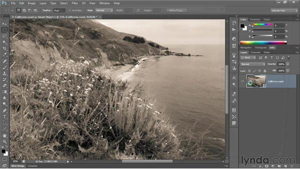 Camera Raw Smart Objects: Photoshop CS6 One-on-One: Advanced
