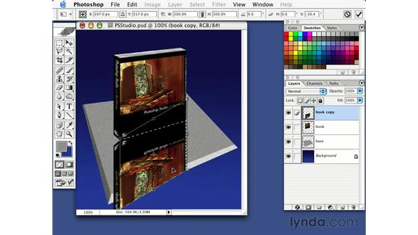 creating a reflection: Photorealism with Bert Monroy: Volume 1