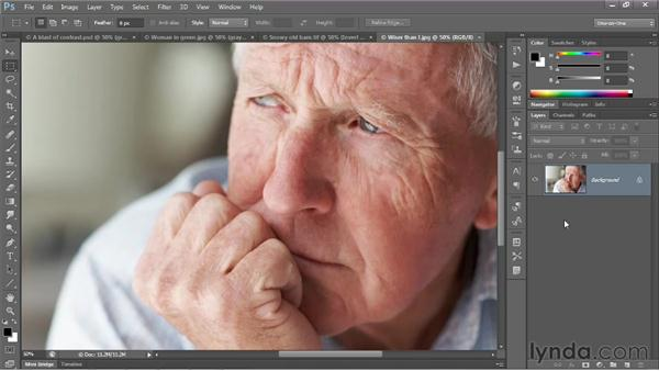 A few great uses for the contrast modes: Photoshop CS6 One-on-One: Advanced