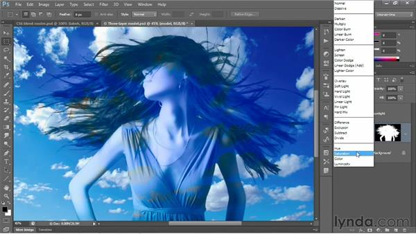Hue, Saturation, Color, and Luminosity: Photoshop CS6 One-on-One: Advanced