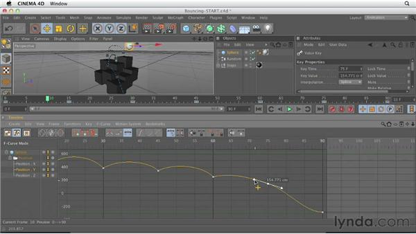 The CINEMA 4D workflow: CINEMA 4D Essentials 1: Interface, Objects, and Hierarchies