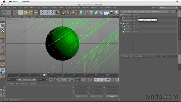How does 3D software work?: CINEMA 4D Essentials 1: Interface, Objects, and Hierarchies
