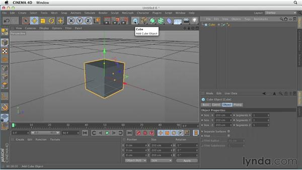 Understanding the interface: CINEMA 4D Essentials 1: Interface, Objects, and Hierarchies
