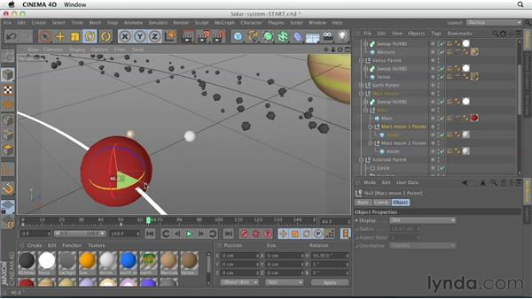 : CINEMA 4D Essentials 1: Interface, Objects, and Hierarchies