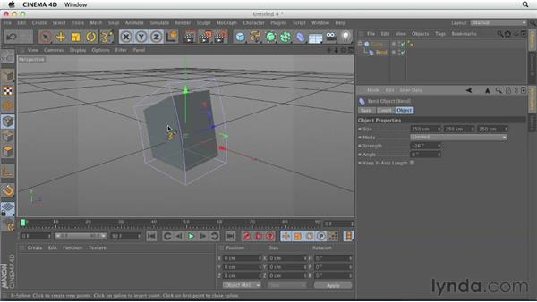 Object subcategories: Explaining object types: CINEMA 4D Essentials 1: Interface, Objects, and Hierarchies
