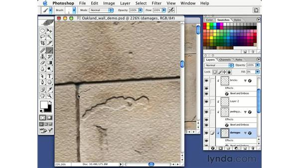 layerstyle for stone detail: Photorealism with Bert Monroy: Volume 1