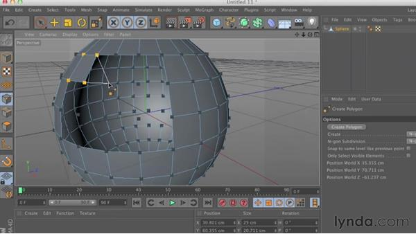Welcome: CINEMA 4D Essentials 2: Polygon and Spline Modeling