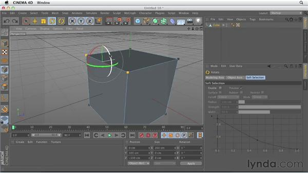 Understanding points, edges, and polygons: CINEMA 4D Essentials 2: Polygon and Spline Modeling