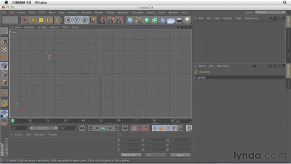 Explaining spline types: CINEMA 4D Essentials 2: Polygon and Spline Modeling