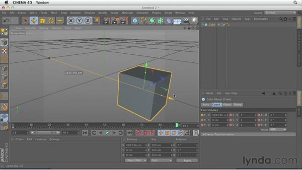 Welcome: CINEMA 4D Essentials 3: Cameras, Animation, and Deformers
