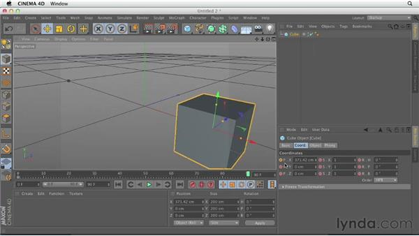 What is a keyframe?: CINEMA 4D Essentials 3: Cameras, Animation, and Deformers