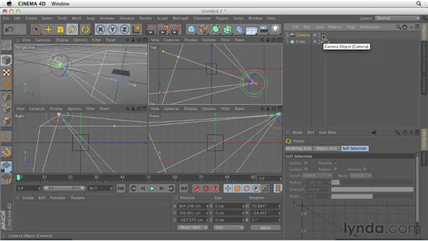 : CINEMA 4D Essentials 3: Cameras, Animation, and Deformers