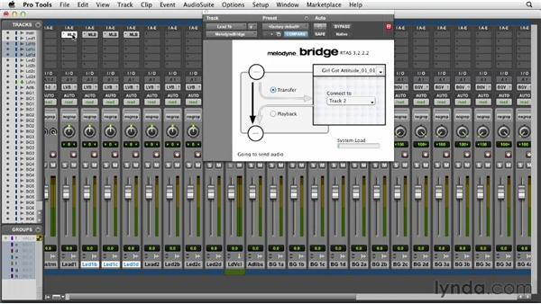 Utilizing Melodyne with your digital audio workstation (DAW) through Melodyne Bridge: Melodyne Advanced Techniques