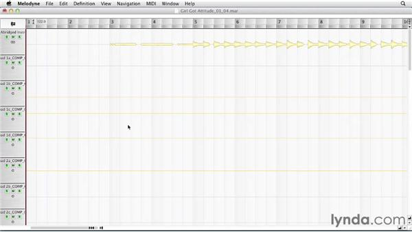 Using Melodyne in a standalone workflow: Melodyne Advanced Techniques