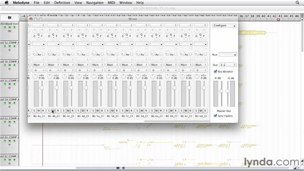 Editing the lead vocal: Melodyne Advanced Techniques