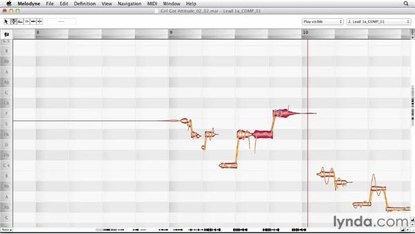Exploring the live editing approach: Melodyne Advanced Techniques