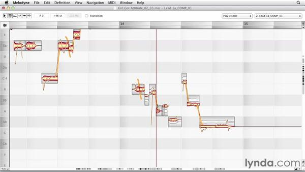"""Using the """"separate first"""" approach: Melodyne Advanced Techniques"""