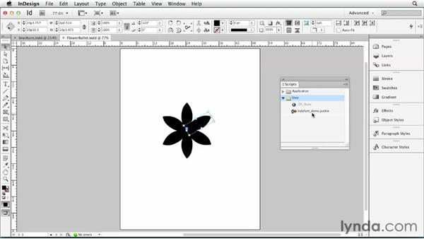 055 Making a font with InDesign using the IndyFont script: InDesign Secrets