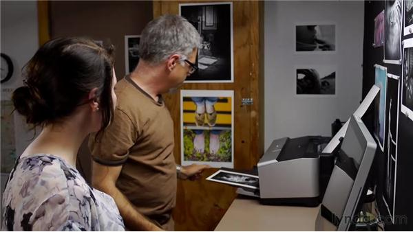 Evaluating a localized adjustment in a practical example: Inkjet Printing for Photographers