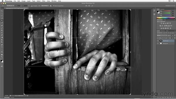 Cropping to a specific size and resolution using the Crop tool: Inkjet Printing for Photographers