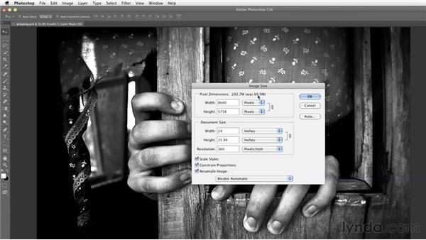 Enlarging an image in Photoshop: Inkjet Printing for Photographers