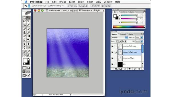 an underwater scene: Photorealism with Bert Monroy: Volume 1