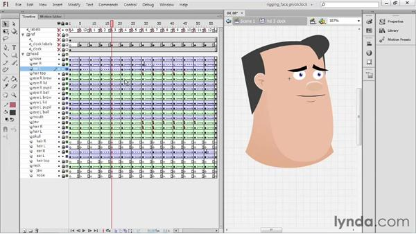 Fixing layering issues: Rigging a Face in Flash Professional
