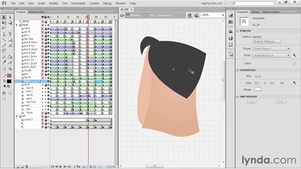 Creating the F head: Rigging a Face in Flash Professional