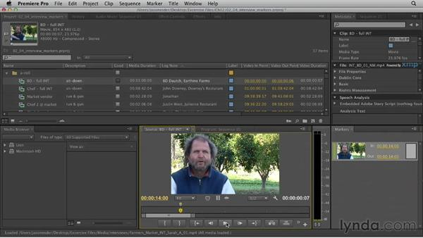 Welcome: Documentary Editing with Premiere Pro