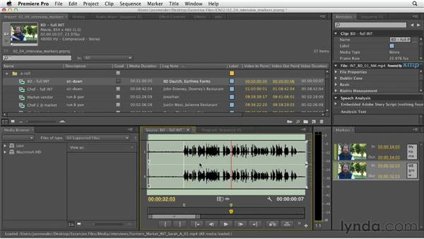: Documentary Editing with Premiere Pro