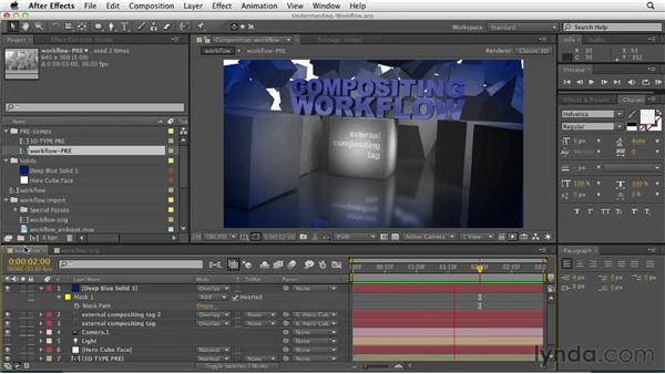Understanding the 3D animation workflow: CINEMA 4D Essentials 5: Rendering and Compositing