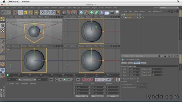 Welcome: CINEMA 4D Essentials 6: HyperNURB Modeling and Sculpting