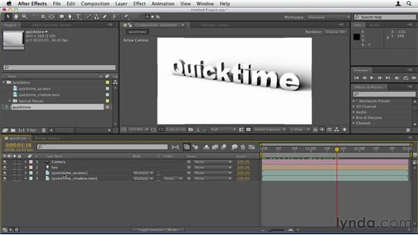 046 Quicktime movies as textures in C4D: Design in Motion
