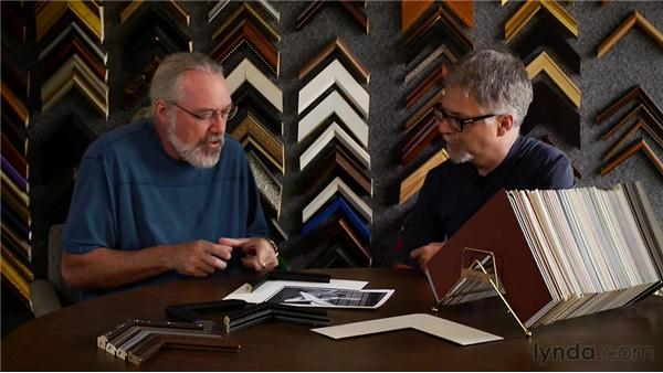 Conversing with a framer: Matting, Framing, and Hanging Your Photographs