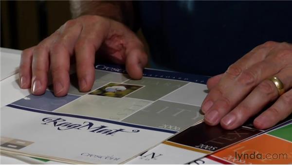 Selecting a mat: Matting, Framing, and Hanging Your Photographs