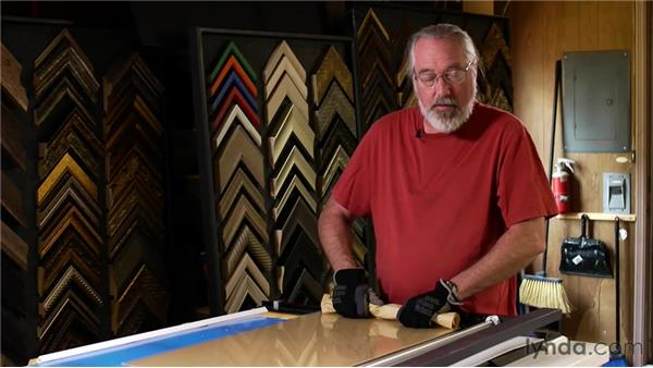 Scoring acrylic: Matting, Framing, and Hanging Your Photographs
