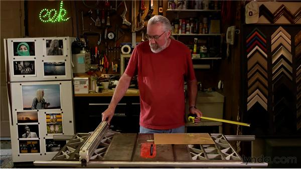 Sawing acrylic: Matting, Framing, and Hanging Your Photographs