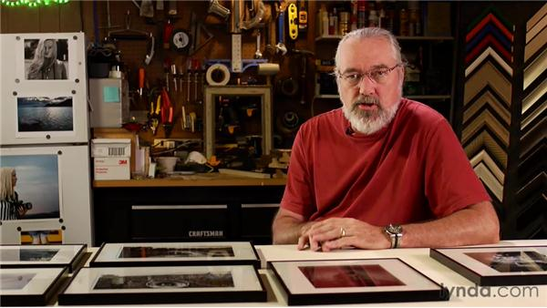 Prepping the show: Matting, Framing, and Hanging Your Photographs