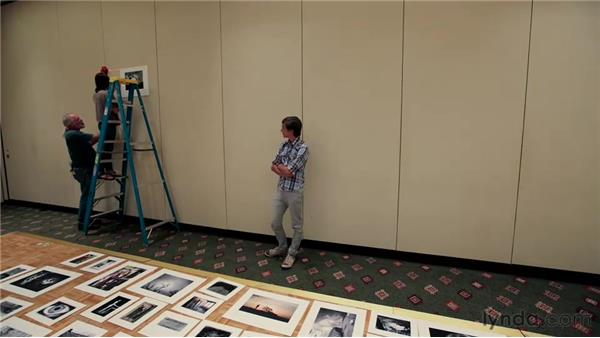 Hanging the show: Matting, Framing, and Hanging Your Photographs