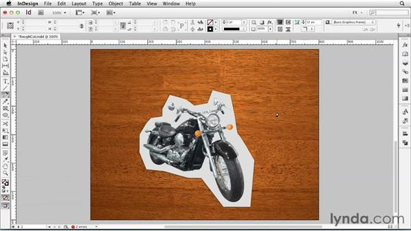 059 Achieving a rough-hewn look: InDesign FX