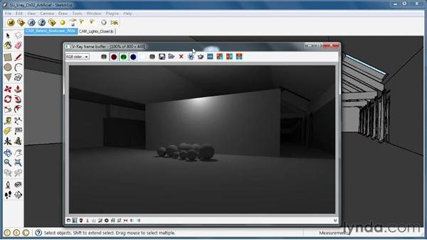 Using the Omni Light: SketchUp Rendering Using V-Ray