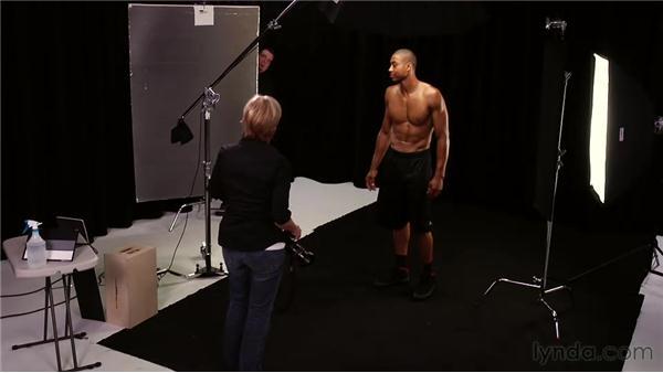Portrait scenario: Athlete: Lighting for Photographers: Portraiture