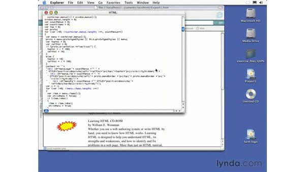 exporting into html: QuarkXPress 6 Essential Training