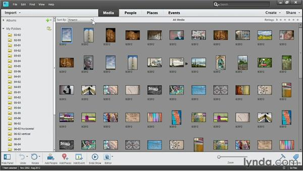 Touring the Organizer: Up and Running with Photoshop Elements 11