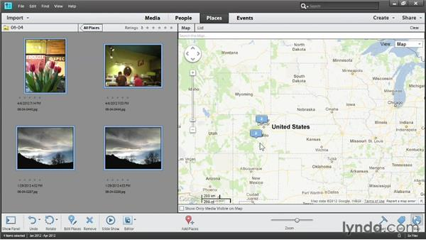 Organizing using Places: Up and Running with Photoshop Elements 11