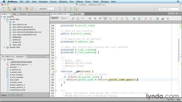 Overloading property access: Object-Oriented Programming with PHP