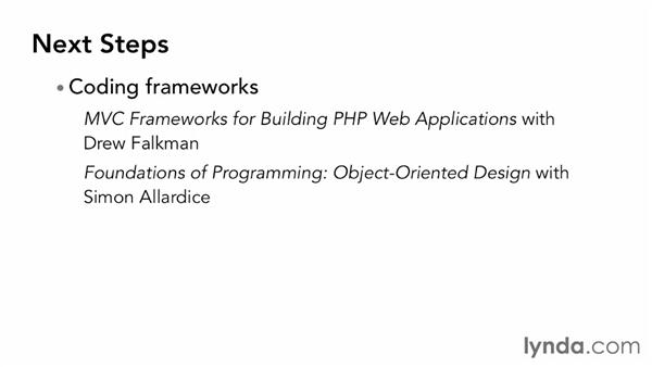 Next steps: Object-Oriented Programming with PHP