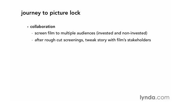 Focusing on the picture lock workflow: Documentary Editing with Avid Media Composer