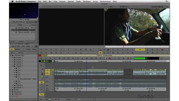 Using montage and parallel editing to manipulate time and ideas: Documentary Editing with Avid Media Composer